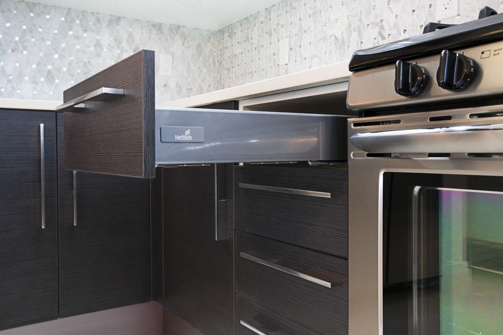 kitchen drawer full extention